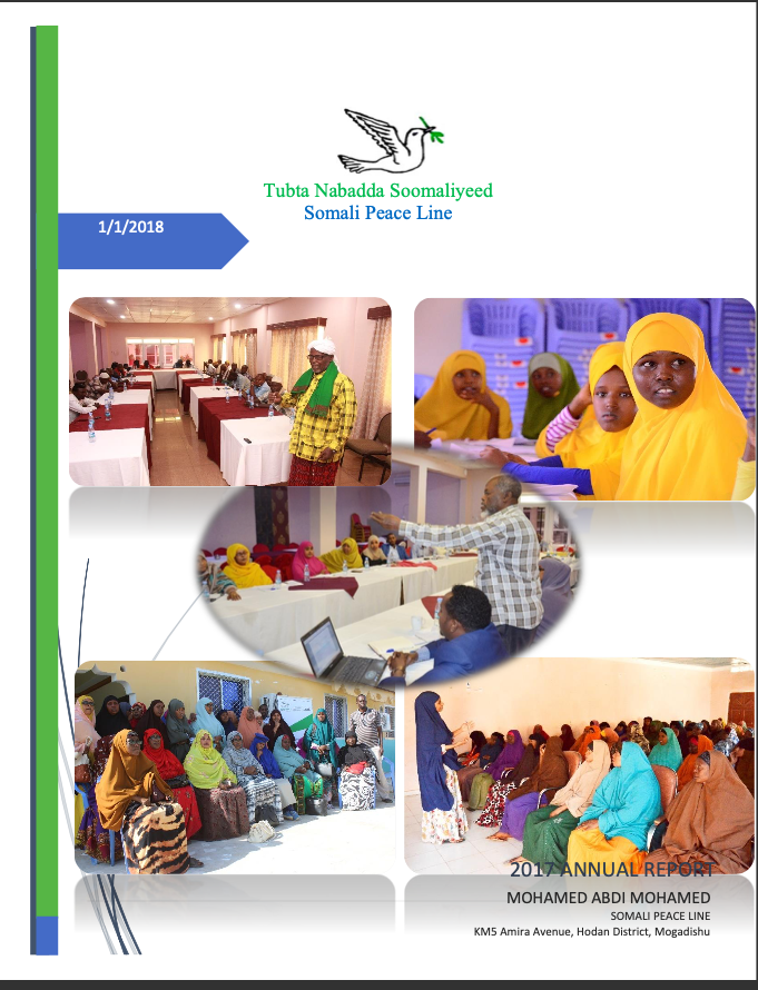 Somali Peace Line Annual Report